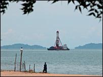 Drilling platform (Scholz)