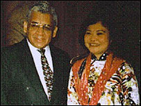 Ram Chavez y Kim Phuc