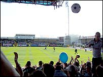 Fans as Swansea's Vetch Field
