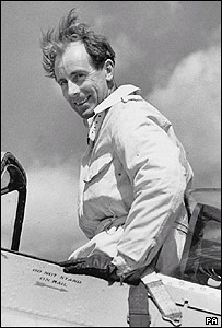Fighter ace Squadron Leader Neville Duke