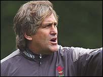 Wales skills coach Scott Johnson