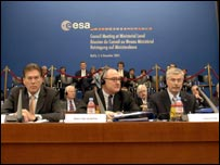 Delegates at the Esa ministerial meeting (Esa/S Corvaja)
