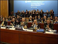 Delegates at the Esa ministerial meeting (Esa/S Corvaja)