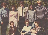 John Lennon's family - picture courtesy of David Birch
