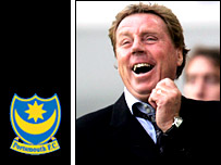 New Portsmouth manager Harry Redknapp