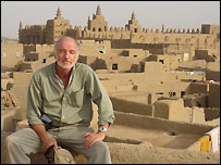 Heinz Ruther in the Djenne mosque