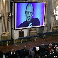 Conferencia grabada de Harold Pinter