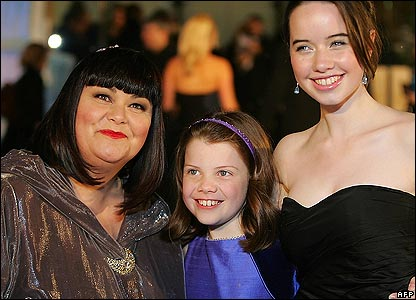 georgie henley and anna popplewell. Dawn French, Georgie Henley