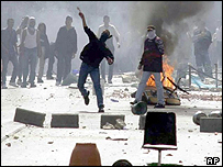 Israeli Arab riots in October 2000