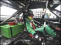 Racing driver Fiona Leggate