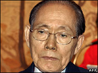 Former North Korean official Hwang Jang-yop - 8/12/05