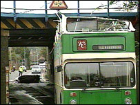 bridge bash in Lincolnshire at Springfield Road
