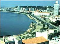 Luanda bay
