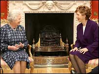 The Queen and President McAleese met at Hillsborough Castle