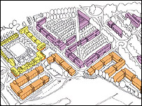 Artist's impression of new research park