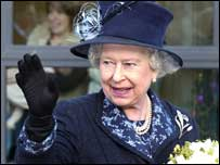 The Queen visited Belfast Central Mission which works with the elderly