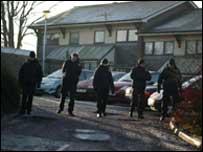 Attack scene in Forfar (Pic: Paul Reid)