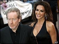 Sir Ridley Scott and wife Giannina