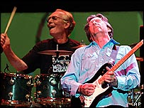 Ginger Baker and Eric Clapton playing on 2 May