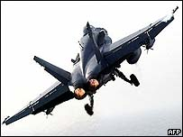 F/A-18 aircraft