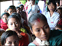 Karbi's internally displaced people