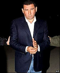 Gen Ante Gotovina in Spanish custody