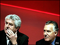 Rhodri Morgan and Peter Hain