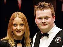 Shaun Murphy and fiancee Claire