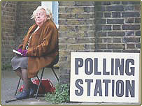 Polling Station Worker