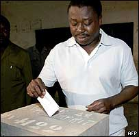 Togo's President-elect Faure Gnassingbe