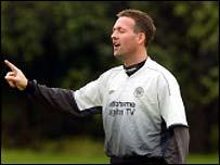 Celtic midfielder Paul Lambert
