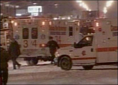 Emergency services at Chicago's Midway airport