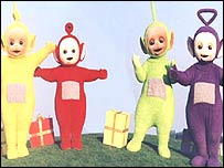 Image of teletubbies