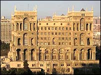 Main government building, Baku