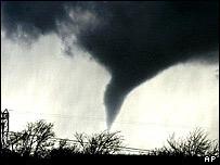 Tornado, in Iowa