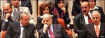 Gabinete iraquí.