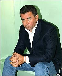 Ante Gotovina in a Spanish police cell