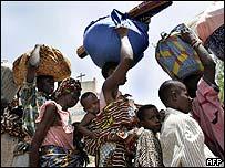 Togolese refugees in Benin