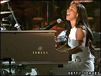 Alicia Keys performance