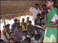 Classroom at Palabakam village