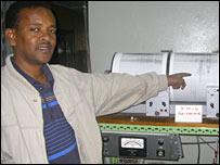 Seismic recording (Ebinger)