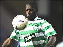 Celtic defender Bobo Balde