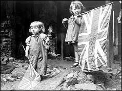 Children on VE Day