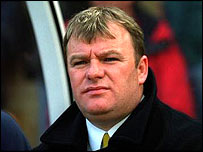 Boston manager Steve Evans