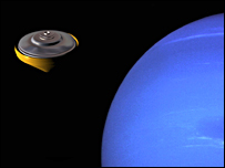 Atmospheric probe heads to Neptune (Bienstock, Atkinson et al)