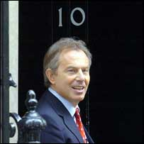 Tony Blair at No 10