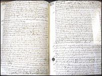 William Bulkeley's diaries held at the University of Wales, Bangor