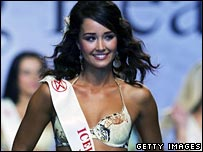 Miss Iceland, Unnur Birna Vilhjalmsdottir