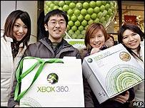 Xbox 360 debuts in Japan