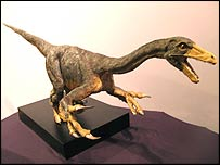 A model of Falcarius utahensis, copyright PaleoForms LLC